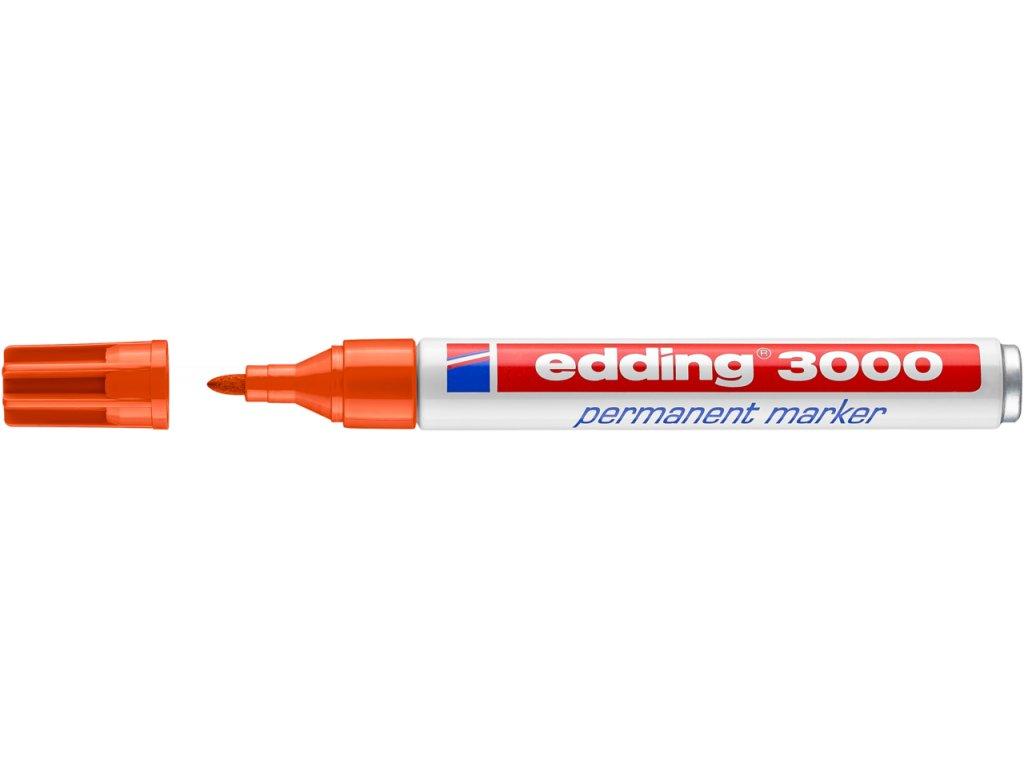 Edding 3000 | permanentní popisovač (Barva žlutý)